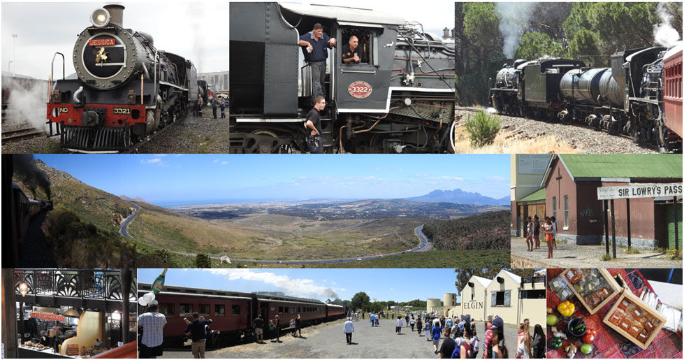 A grand day out for foodies, families and lovers of steam trains!